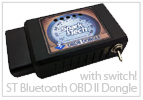 Spark Tech Bluetooth OBD II Dongle with switch System