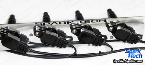 Spark Tech Lancer EVO 4-8 Coil on Plug NON CDI System - Click Image to Close